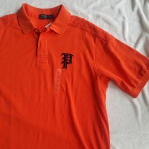 NWT Polo by Ralph Lauren Shirt Orange XLT